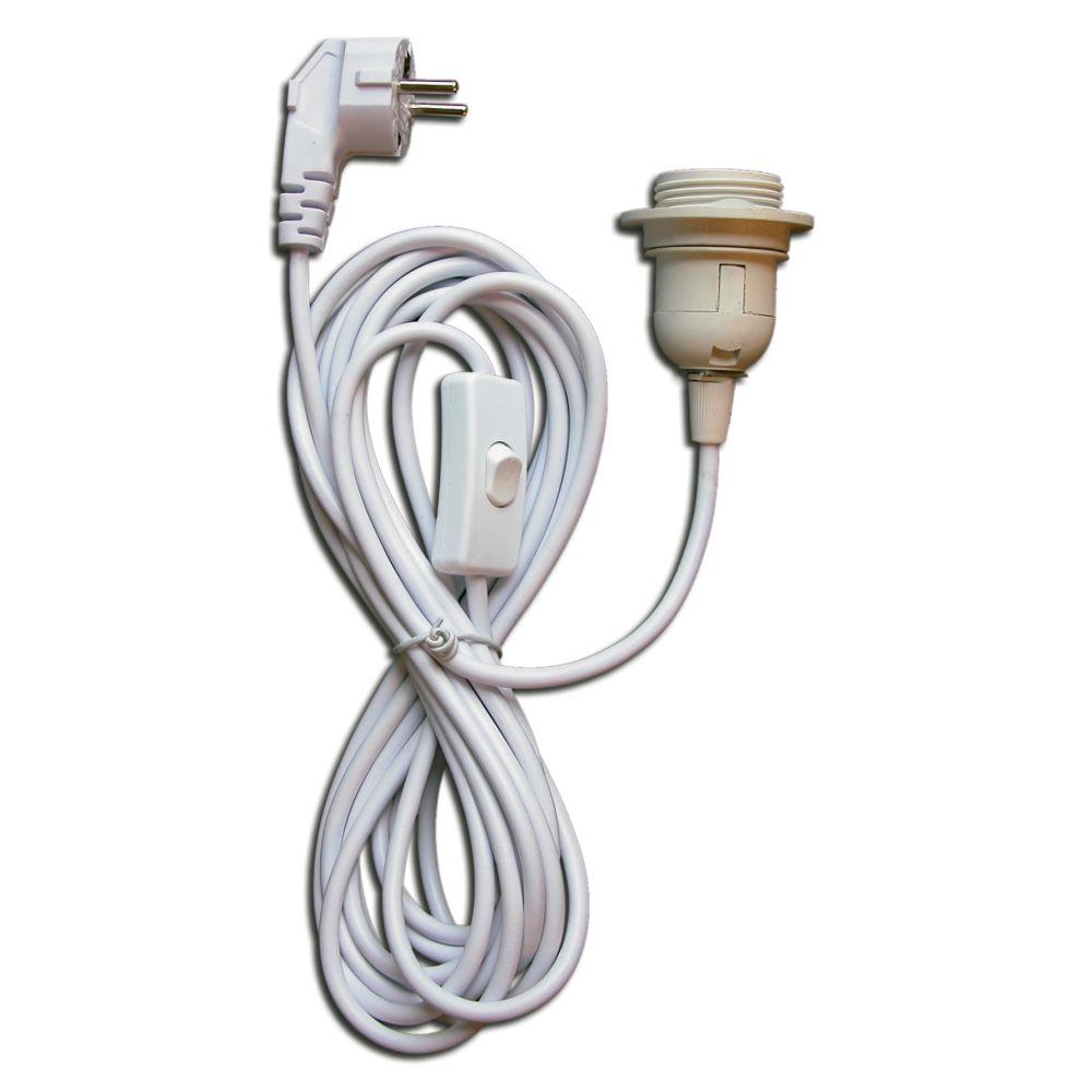 Lampfitting met stekker
