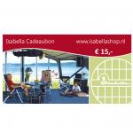 Isabella Cadeaubon 15 euro