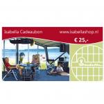 Isabella Cadeaubon 25 euro